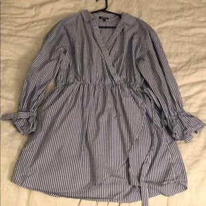 🌟2 for $40🌟 Pinstripe summer dress with pockets